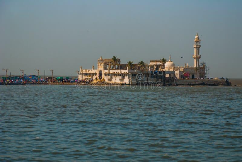 Mosquée Haji Ali Mumbai, Inde image libre de droits