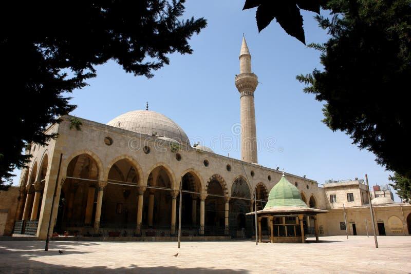 Mosquée historique de justice à Alep images stock