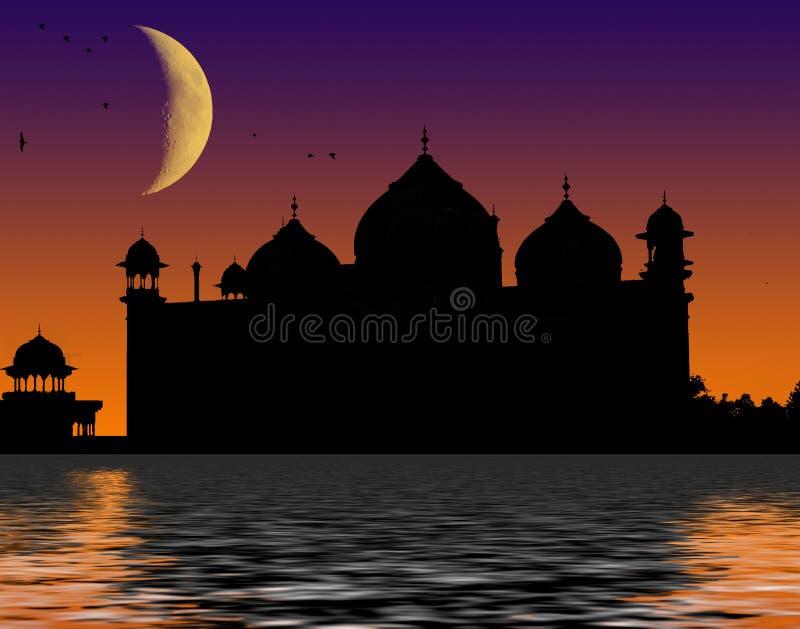 Mosquée islamique illustration de vecteur