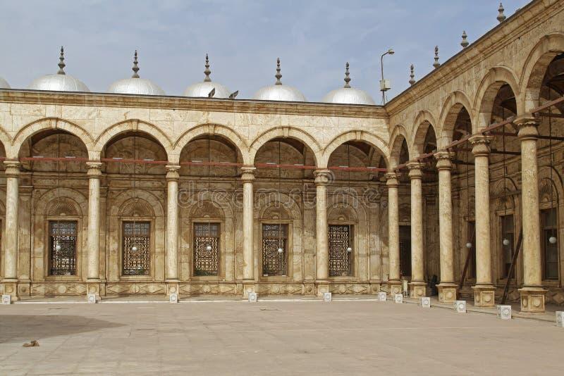 Mosquée le Caire d'albâtre image stock