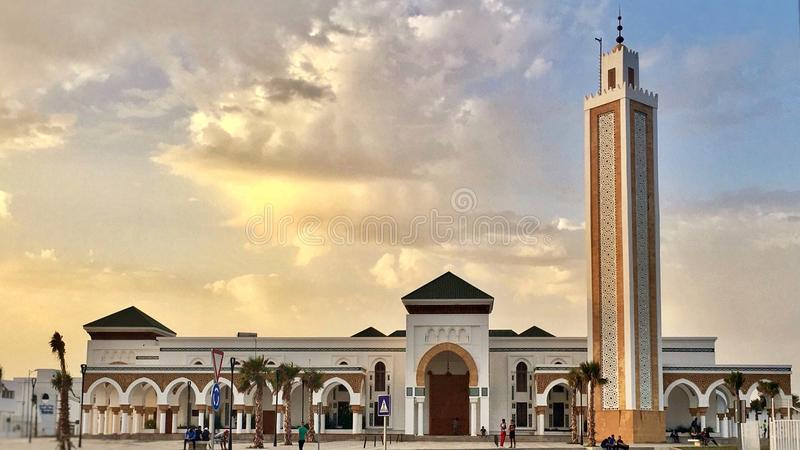 mosquée marocaine photographie stock