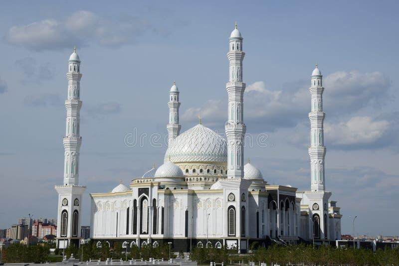 Mosquée neuve à Astana photo libre de droits
