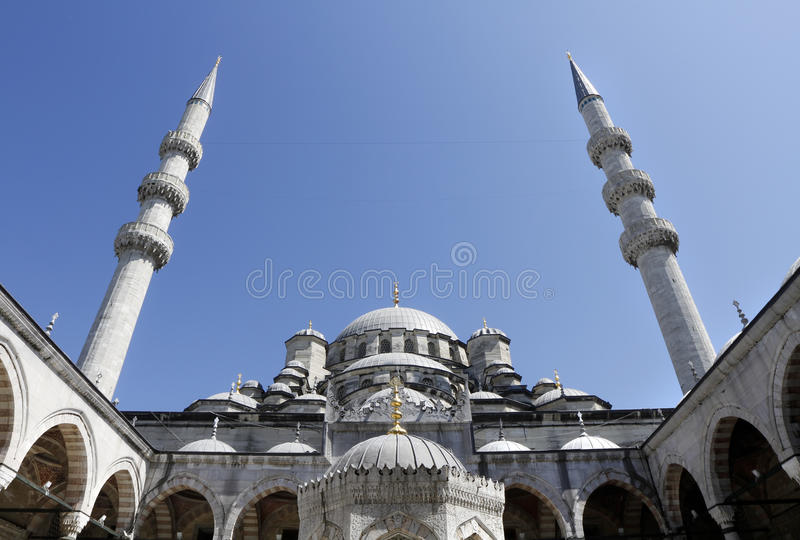 Mosquée neuve (Yeni Cami), Istanbul, Turquie image libre de droits