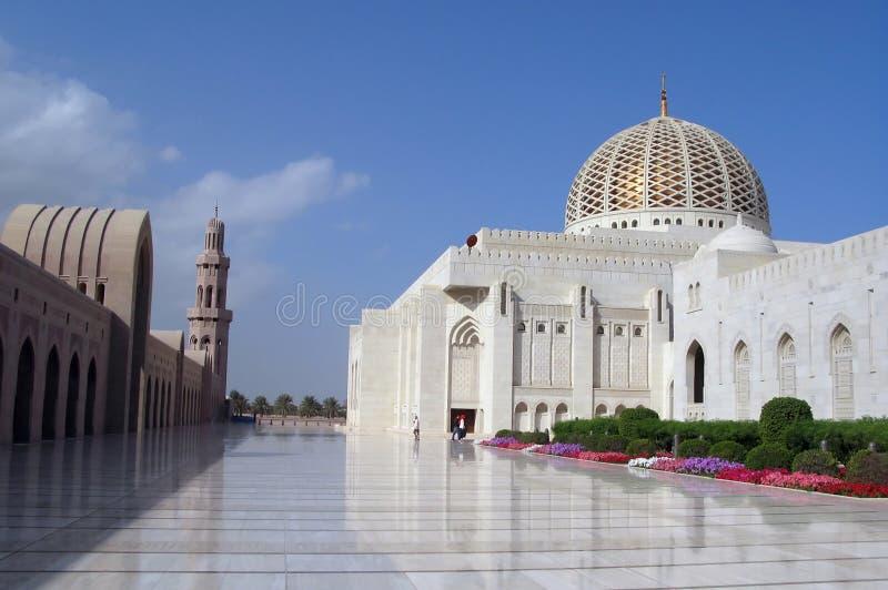 Mosquée Oman de Qaboos de sultan images libres de droits