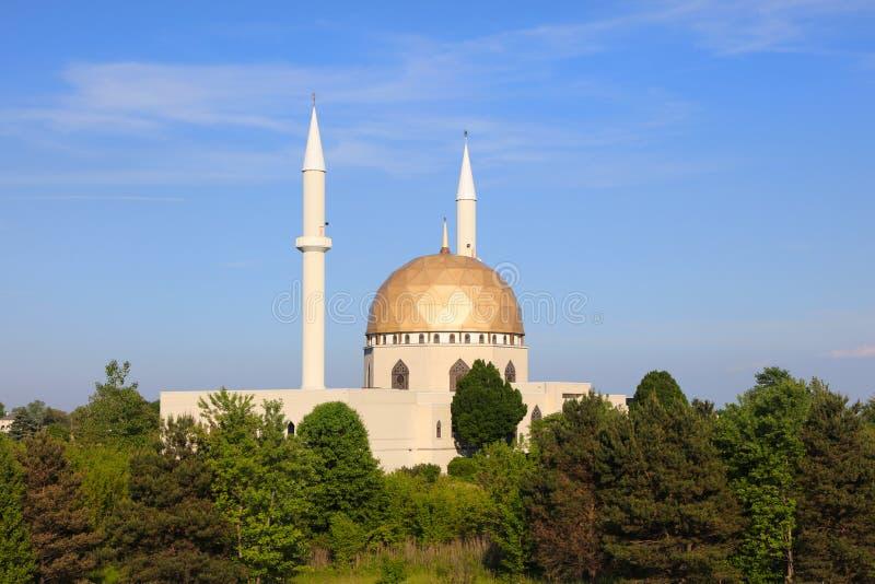 Mosquée près de Toledo aux Etats-Unis image libre de droits