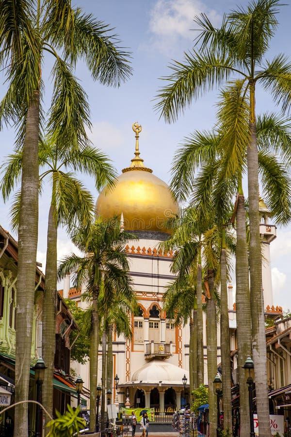 Mosquée Singapour de sultan photos libres de droits