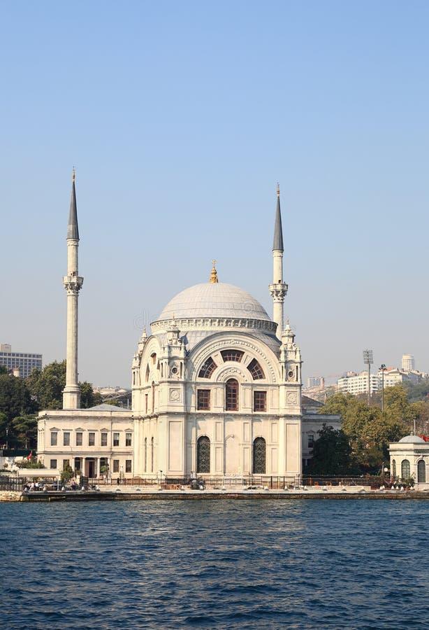 Mosquée sur le Bosporus, Istanbul photo stock