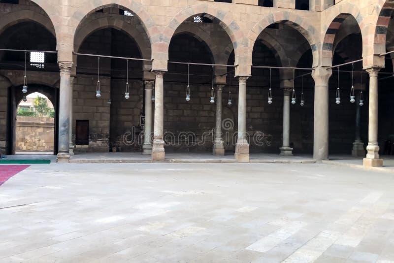 Mosquées égyptiennes La mosquée le temple musulman en Egypte photos stock