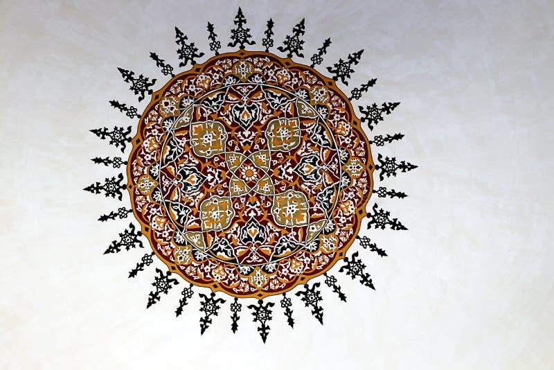 Mosquées et ciel bleu images libres de droits