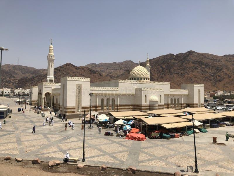 Mosqu?e Masjid Quba Madinah l'Arabie Saoudite Points de rep?re islamiques photo prise sur 04 28 2019 image libre de droits