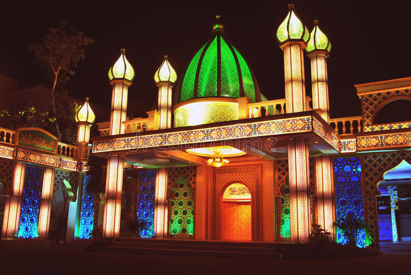 Download Mosque stock image. Image of beautiful, scene, moslem - 13710737