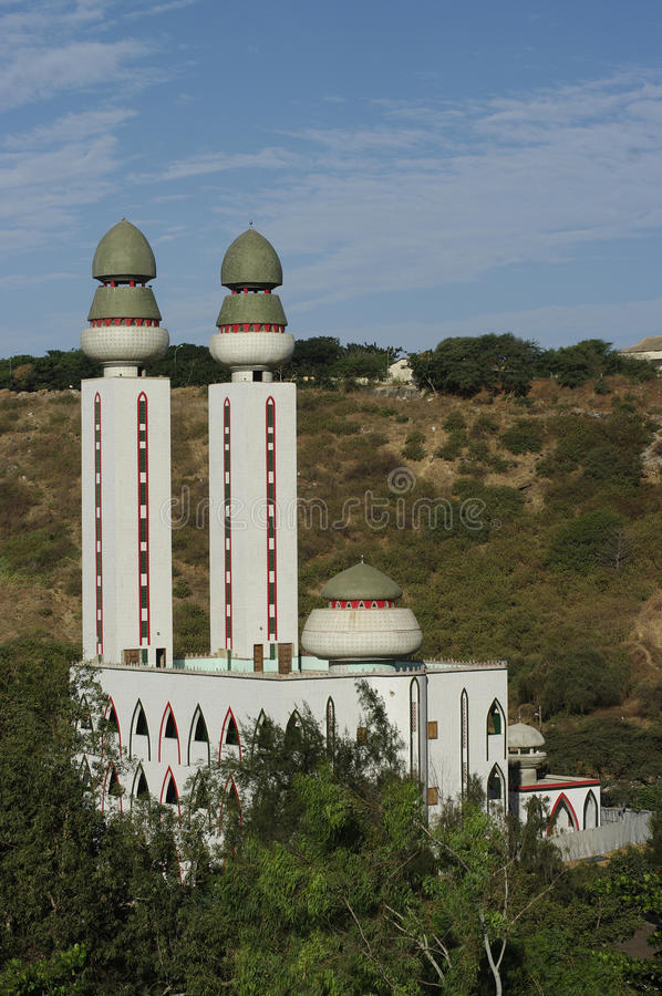Download The Mosque stock image. Image of monument, twin, africa - 23165627