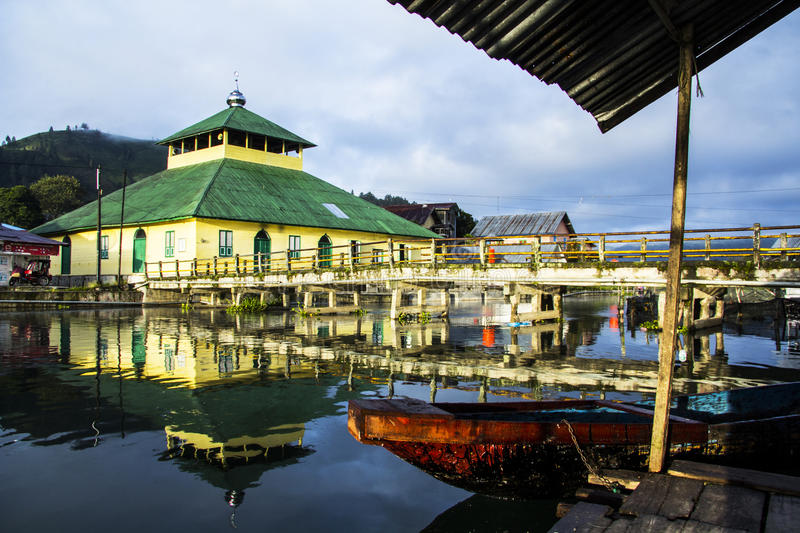 Download Mosque editorial photography. Image of across, takengon - 28923552