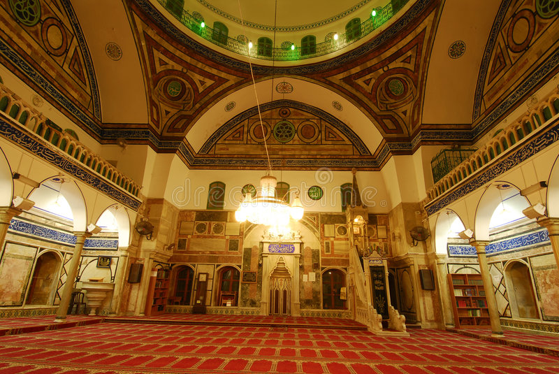 Download Mosque stock image. Image of interior, jazzar, israel - 4682357
