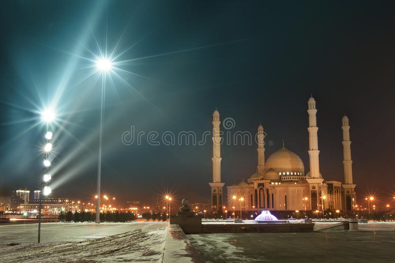 Download Mosque of Astana city stock image. Image of district - 25571227