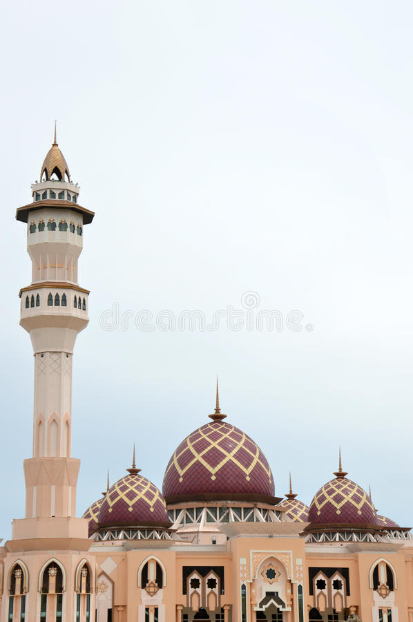 Mosque Baitul Izzah Tarakan, Indonesia Stock Photography