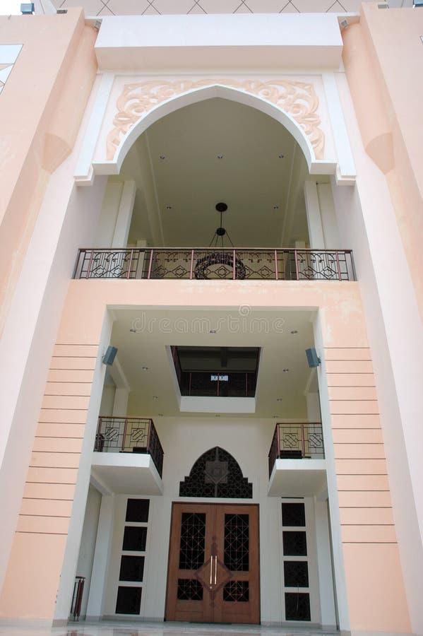 Mosque Baitul Izzah In Tarakan Indonesia Royalty Free Stock Photo