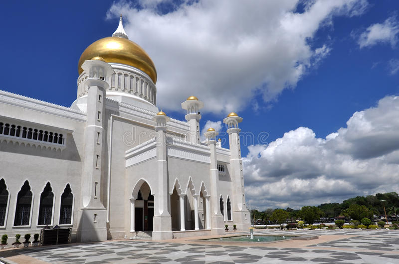 Mosque in Brunei royalty free stock image
