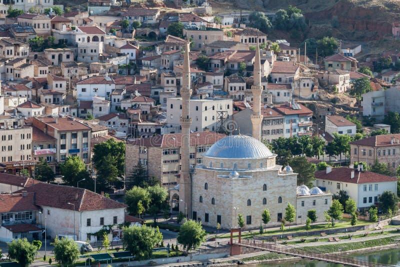 Mosque in Cappadocia Turkey stock images