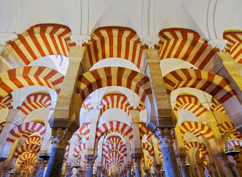 Mosque-Cathedral in Cordoba, Spain stock image