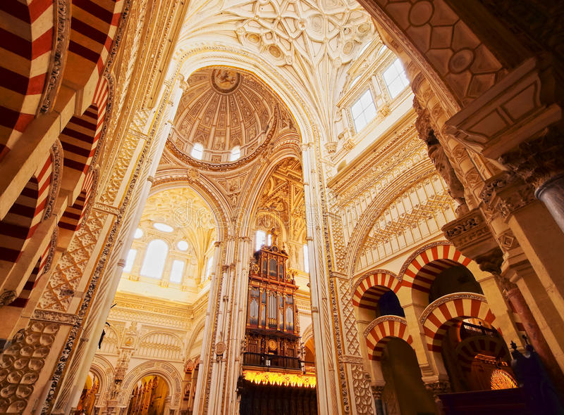 Mosque cathedral in cordoba spain stock photo image of for Mezquita de cordoba interior