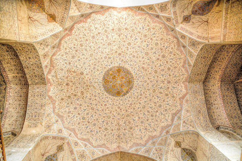 Mosque ceiling stock photos