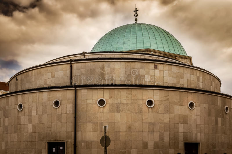 Mosque church in Hungary royalty free stock photo