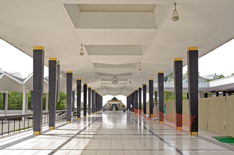Download Mosque corridor stock photo. Image of middle, great, corridor - 18372892