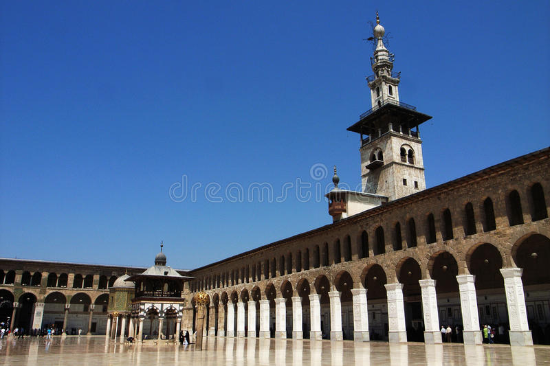 Mosque in Damascus royalty free stock images