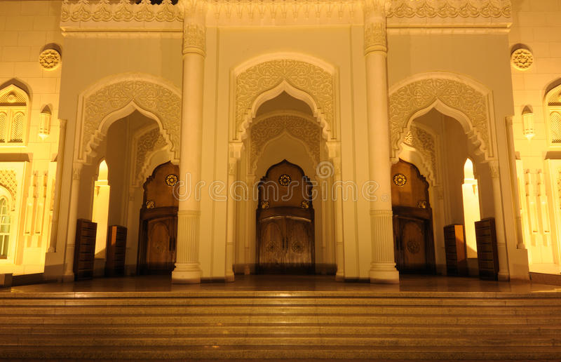 Download Mosque Detail stock image. Image of arabia, lights, east - 12989941