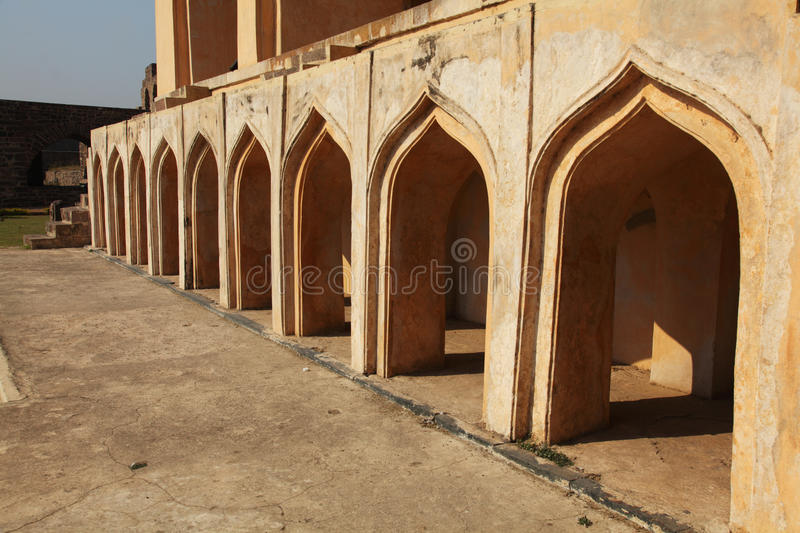 Download Mosque Detail At Golconda Fort, Hyderabad Stock Photo - Image: 23853746