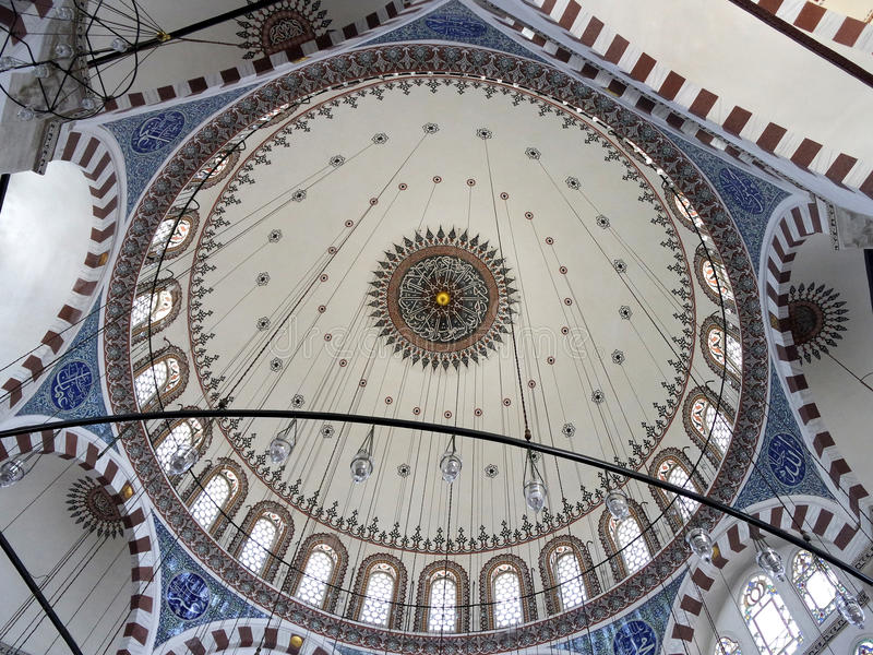 Mosque dome royalty free stock image