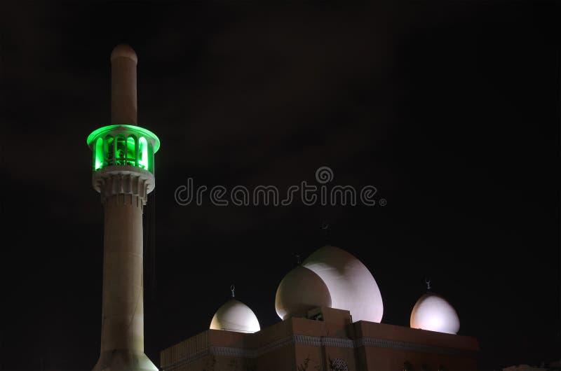Mosque in Dubai city stock image