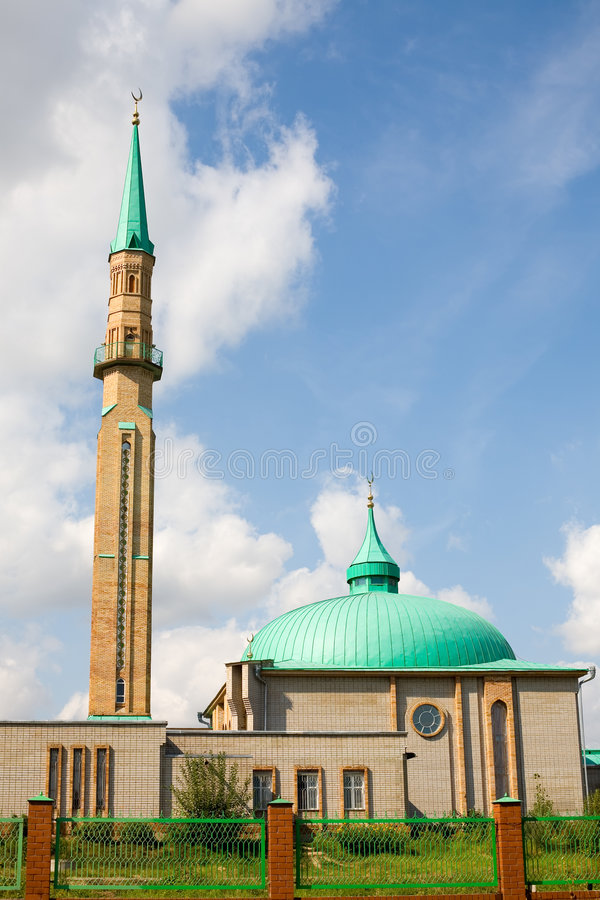 Mosque in Elabuga stock photography