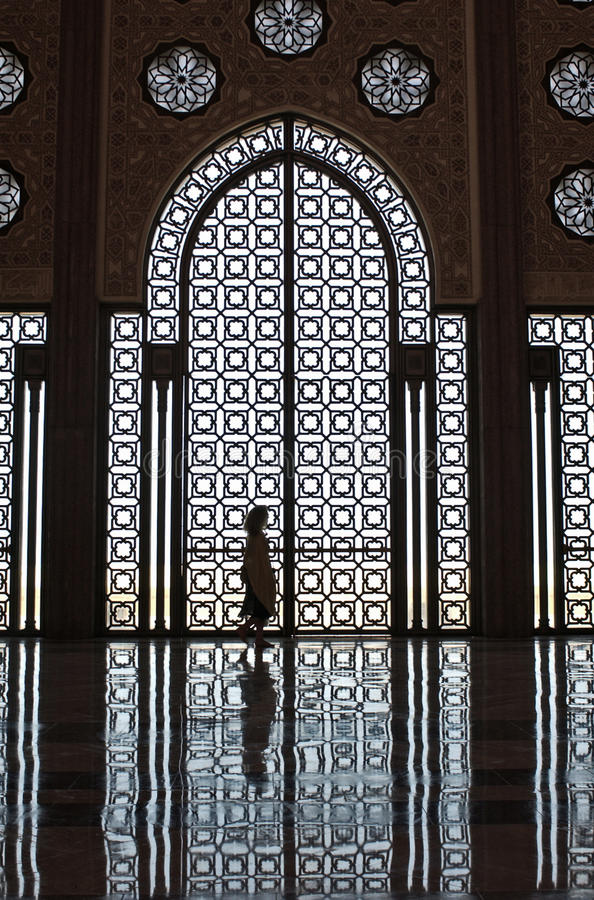 Download Mosque Girl Silhouette Stock Images - Image: 26187434