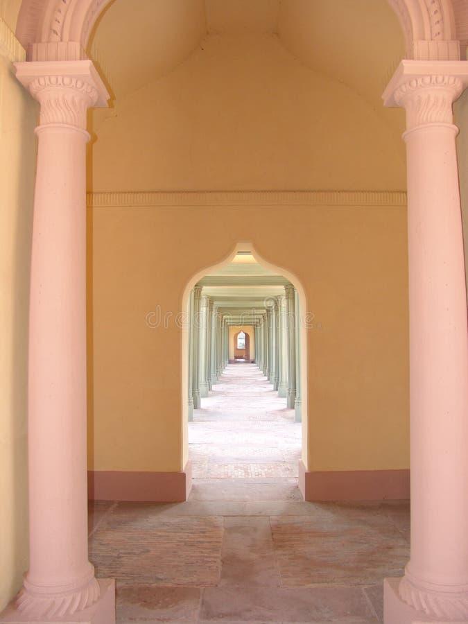 Free Mosque Hallway Royalty Free Stock Photos - 561218