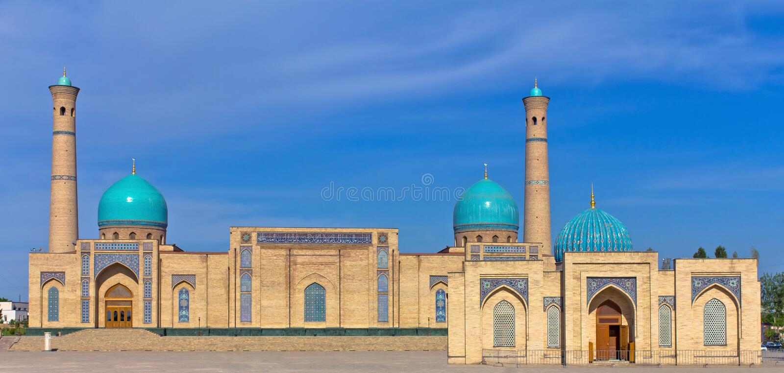 Mosque Hazrati Imom royalty free stock images