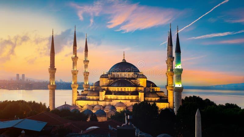 Mosque i Istanbul arkivbild