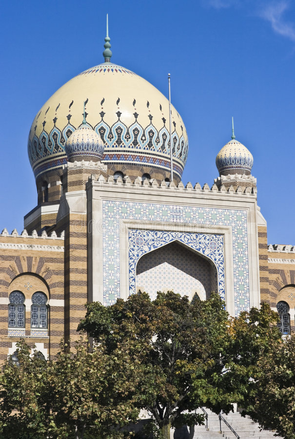 Free Mosque In Milwaukee Royalty Free Stock Photos - 8732158