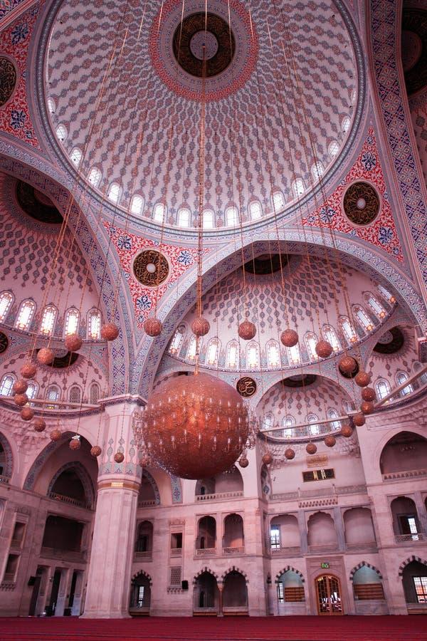 Mosque indoor stock images