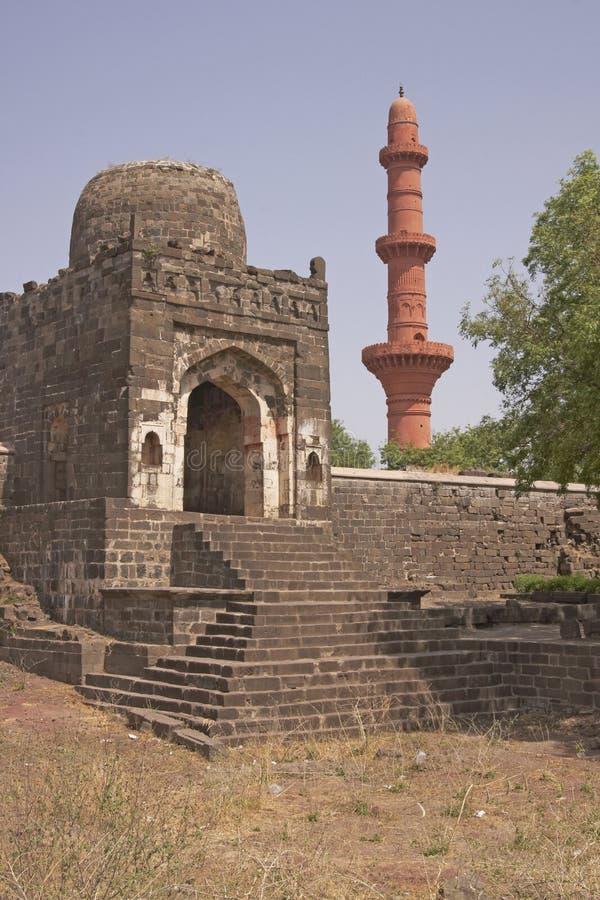 Mosque inside Daulatabad Fort royalty free stock photos