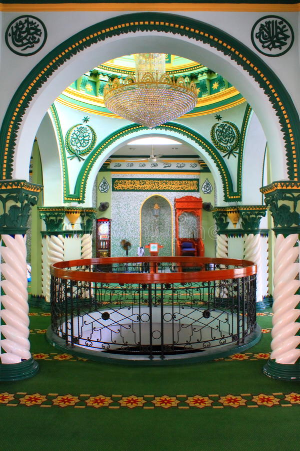 Download Mosque Interior stock photo. Image of courtyard, architecture - 14487102