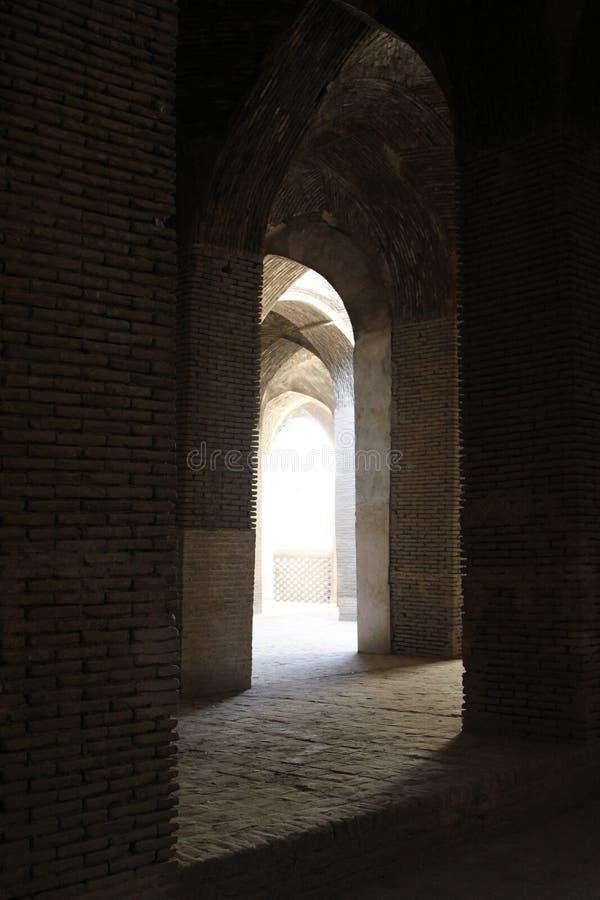 Mosque interiors in Iran. Mosque interiors in central Iran stock images