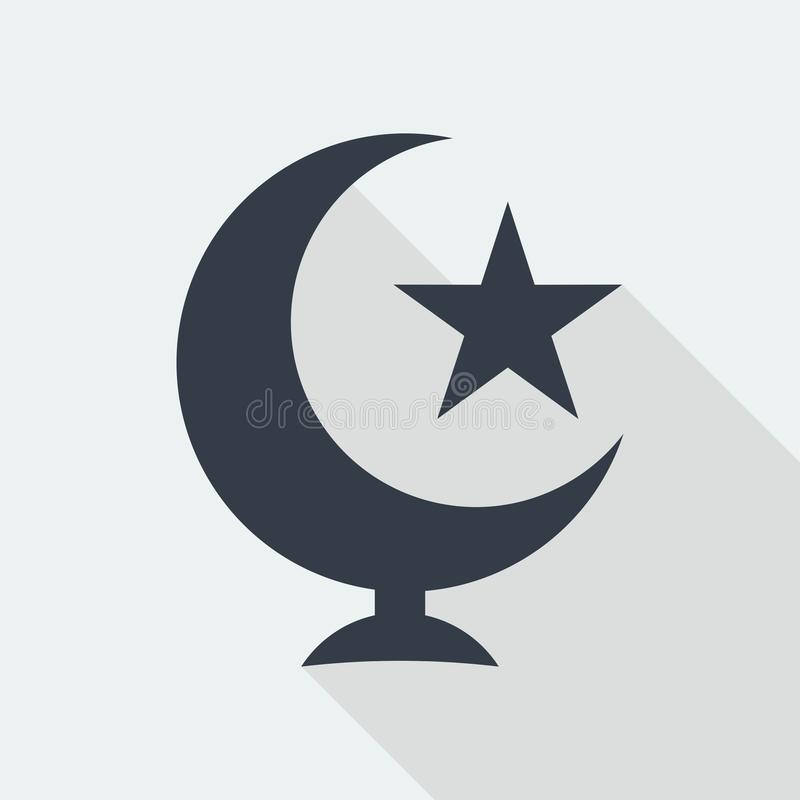 mosque islamic muslim relief art flat design, seo web design building stock image