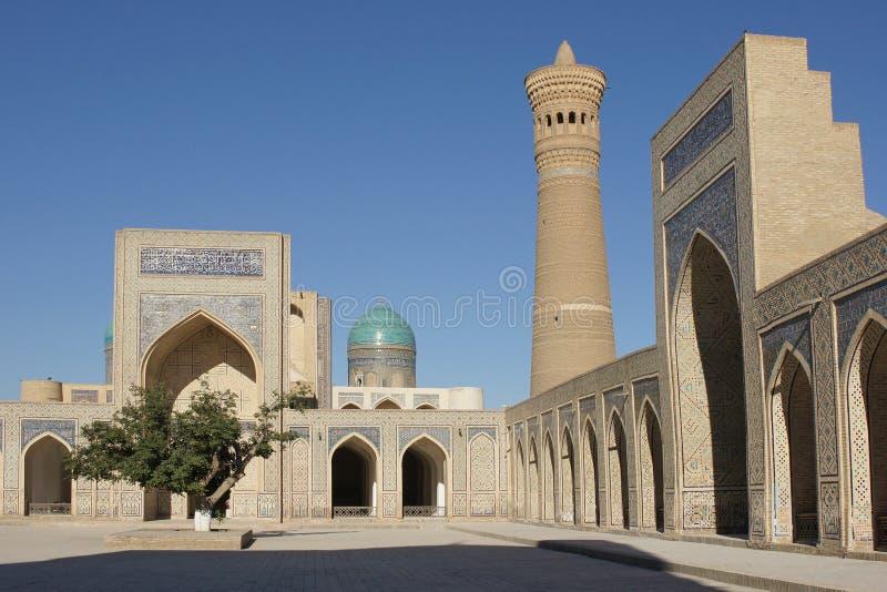 Mosque Kalon, Bukhara, Uzbekistan Stock Photos