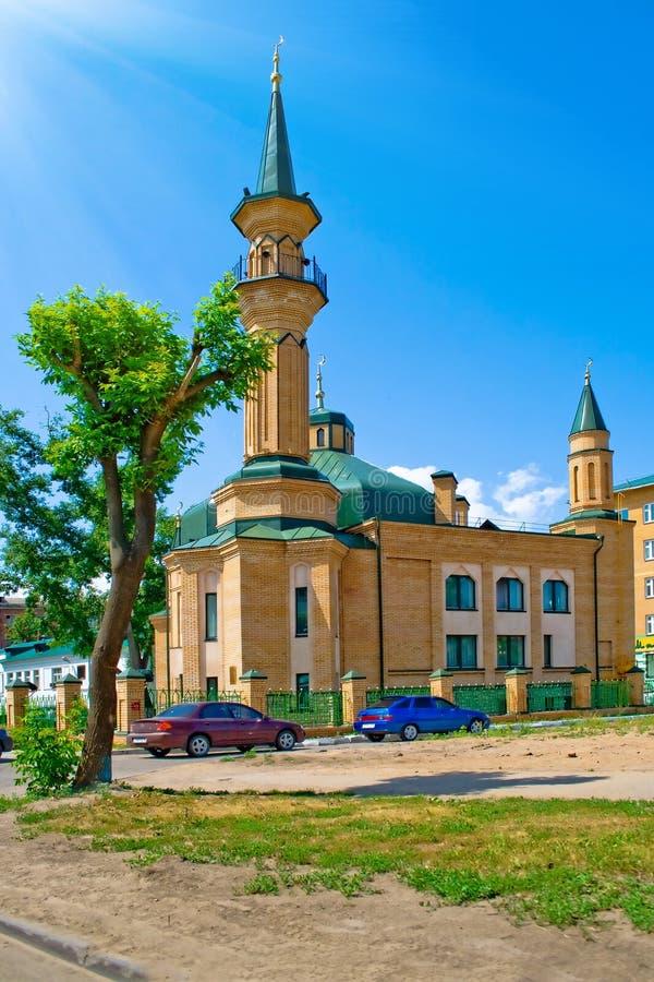 Mosque in Kazan royalty free stock photo