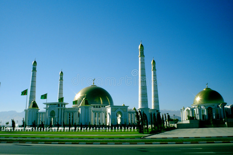 Mosque in Kipchak royalty free stock photo