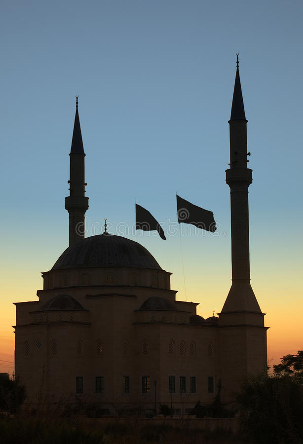 Mosque - Kyrenia - Turkish Cyprus royalty free stock image