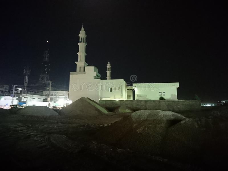 Mosque in Hyderabad. This Mosque located in Hyderabad Pakistan stock photo