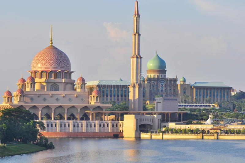 A mosque in Malaysia royalty free stock photography